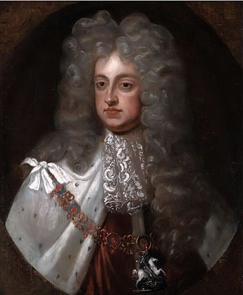 George II, King of England, ca. 1727 (Unknown Artist)  Location TBD