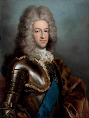 Prince James Edward Stuart, the Old Pretender, ca.  1720 (Antonio David) (1684-1750)  The Weiss Gallery, London