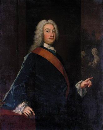 Thomas Fermor, 1st Earl of Pomfret, ca. 1720-1730 (Joseph Highmore)  (1692-1780)  Private Collection