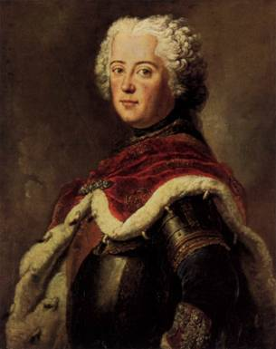 Frederick the Great as Crown Prince, ca. 1739  (Antoine Pesne) (1683-1757)   Staatliche Museen zu Berlin