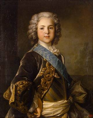Louis, Grand Dauphin of France, ca. 1739  (Louis Tocqué) (1696-1772) State Hermitage Museum, St. Petersburg