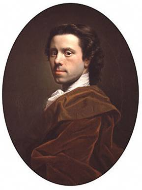 Self Portrait at 26 years old, ca. 1739  (Allan Ramsay) (1713-1784)  Location TBD