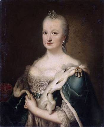 Mariana Victoria of Spain, Princess of Brazil, ca. 1735 (circle of Johann Georg Ziesenis) (1716-1777) Location TBD