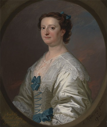 Arabella Pershall, Lady Glenorchy, 1740 (Allan Ramsay) (1713-1784) Yale Center for British Art, TMS 995