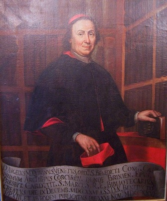 Cardinal Angelo Maria Querini, ca. 1740 (Unknown Artist) Location TBD