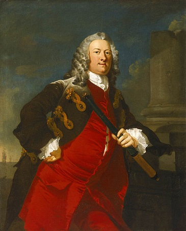 Commodore Thomas Smith, ca. 1744 (Richard Wilson) (1714-1782) National Maritime Museum, Greenwich, London