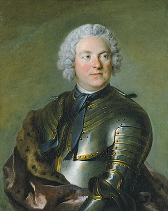 Count Carl Gustaf Tessin, 1741 (Louis Tocqué) (1696-1772) Nationalmuseum, Stockholm, NM 2388