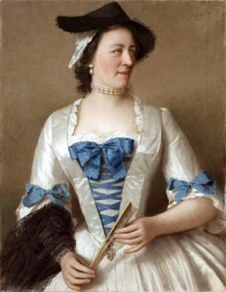 Lady Charles Tyrell, 1746 (Jean-Étienne Liotard) (1702-1789) Private Collection