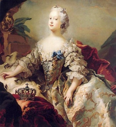 Louise of Great Britain, Queen of Denmark and Norway, ca. 1747 (Carl Gustav Pilo) (1711-1793) Statens Museum for Kunst, København