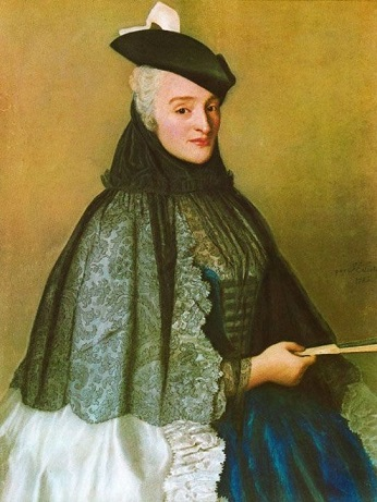 Mrs. Boere, 1746 (Jean-Étienne Liotard) (1702-1789) Location TBD