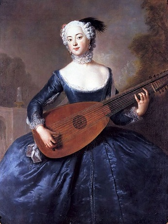 Eleanore Louise Albertine, 1745 (Antoine Pesne) (1683-1757) Location TBD