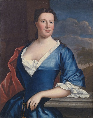 Elizabeth Turbutt, ca. 1746 (Robert Feke) Sotheby's Auction House