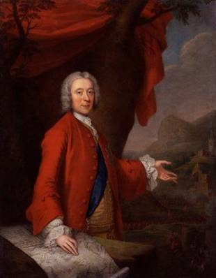 John Campbell, 2nd Duke of Argyl and Greenwich, ca. 1740 (Thomas Bardwell) (1704-1767) National Portrait Gallery, London NPG 3110