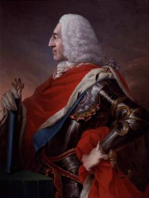 Prince James Francis Edward Stuart, ca. 1741 (Louis Gabriel Blanchet) (1705-1772) National Portrait Gallery, London NPG 5573