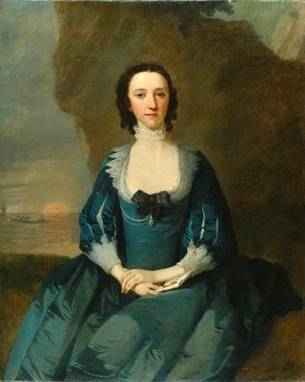 Flora Macdonald, ca. 1747 (Richard Wilson) (1714-1782) National Portrait Gallery, London NPG 5848