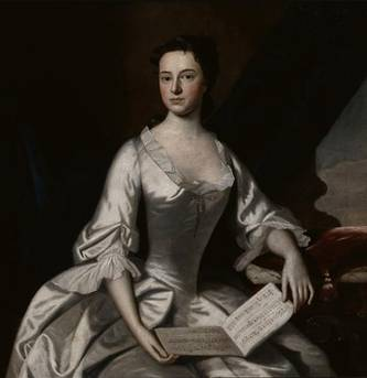 Mrs. Barlow Trecothick (Grizzell Apthorp), ca. 1748 (Robert Feke) (1707-1752) Wichita Art Museum, KS M78.49