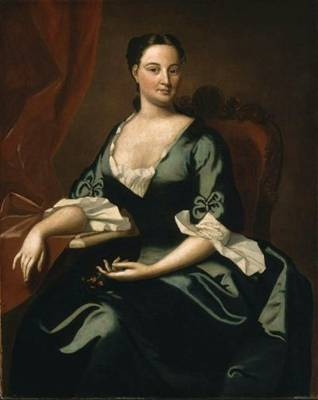 Mary Channing, ca. 1747-1749 (Robert Feke) (1707-1751) Museum of Fine Arts, Boston 64.1009