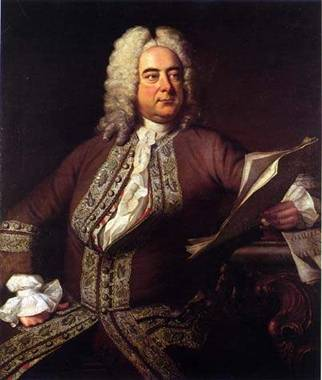 Georg Friedrich Handel, ca. 1749 (Unknown Artist) Location TBD
