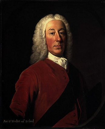 James Murray, 2nd Duke of Atholl, Lord Privy Seal, 1743 (Allan Ramsay) (1713-1784) Scottish National Portrait Gallery, PG 925