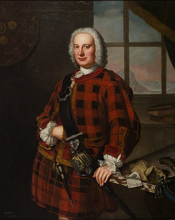 John Campbell, 1749 (William Mosman) (fl. 1727-1777) Scottish National Portrait Gallery, Edinburgh, PGL 2311