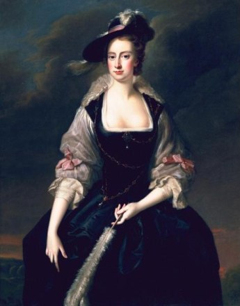 Lady Frances (Finch) Courtenay, ca. 1741 (Thomas Hudson) (1701-1779) The Huntington, San Marino, CA