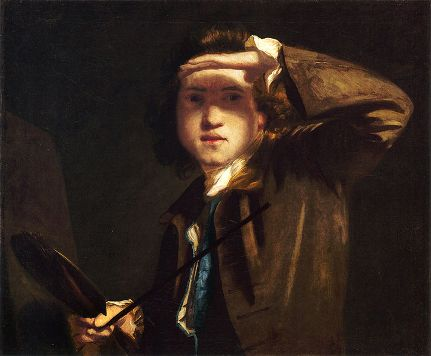 Self-Portrait, ca. 1747-1749 (Sir Joshua Reynolds) (1723-1794) National Portrait Gallery, London NPG 41