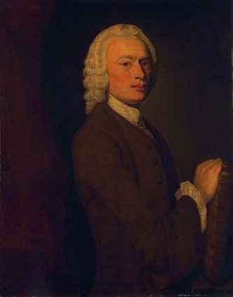 A Man, possibly Lawrence Sterne, ca. 1740 (Unknown Artist) The Huntington, San Marino, CA