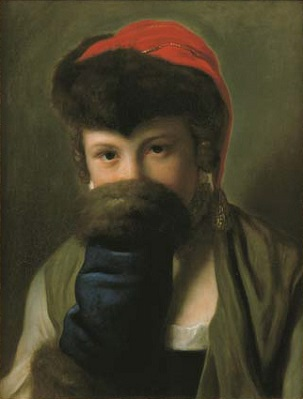 A Young Girl, ca. 1758 (Pietro Rotari) (1707-1762) Christie's Auction House, Sale 1194, Lot 68
