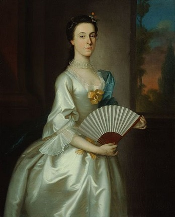 Abigail Chesebrough, Mrs. Alexander Grant, 1754 (Joseph Blackburn) (ca. 1730-1778) The Art Institute of Chicago, IL, 1984.725