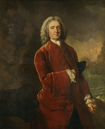 "Edward Vernon, ""Old Grog"", ca. 1753 (Thomas Gainsborough) (1727-1788) National Portrait Gallery, NPG 881"