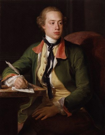 Frederick North, 2nd Earl of Guilford, 1753 (Pompeo Batoni) (1708-1787) Location TBD