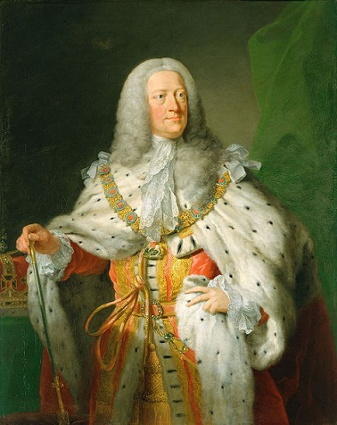 George II, King of England, ca. 1755 (John Shackleton) (??-1767) Royal Collection, UK, 405310
