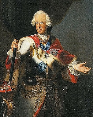 Ludwig VIII, Landgrave of Hesse-Darmstadt, ca. 1755 (workshop of Johann Christian Fielder) (1697-1765) Location TBD
