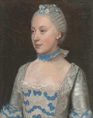 Madame Saint Pol, 1757 (Jean-Étienne Liotard) (1702-1789) Christies Fine Art Auction House, Sale 5688, Lot 78