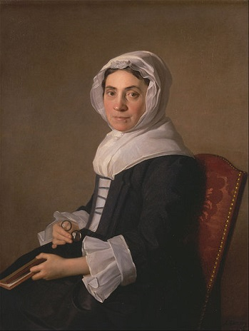 Mary Adam, 1754 (Allan Ramsay) (1713-1784)  Yale Center for British Art, New Haven, CT,  TMS 997