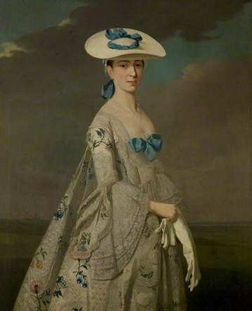Eleanor Frances Dixie, ca. 1753 (attributed to Henry Pickering)  (ca. 1720-1771)   Nottingham Castle Museum and Art Gallery