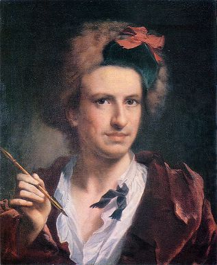 Francesco Bartolozzi, ca. 1755 (Anton Raphael Mengs) (1728-1779) Lviv National Gallery of Art