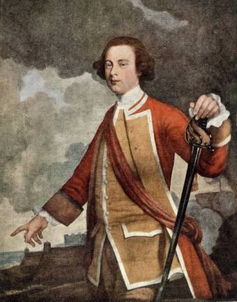 General James Wolfe, 1759  (Joseph Highmore) (1692-1780) Location TBD