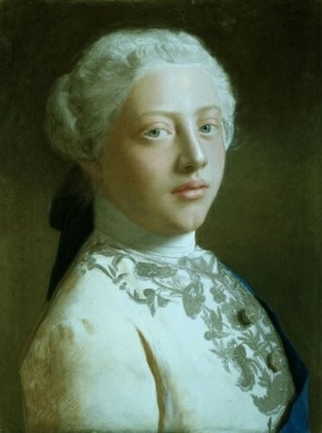 George III,  Prince of Wales, future King of England, 1754 (Jean-Étienne Liotard) (1702-1789)  The Royal Collection, UK,  RCIN 400897