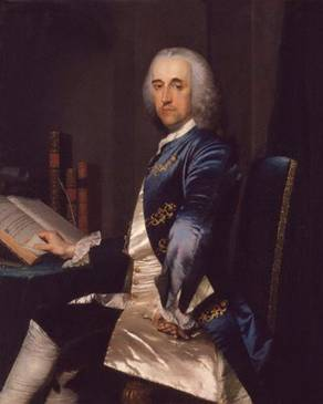 Sir Thomas Robinson, 1st Bt, ca. 1750  (Frans van der Mijn) (1719-1793)   National Portrait Gallery, London    NPG 5275