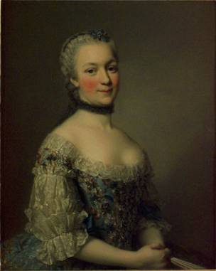 Countess Mniszech, ca. 1752 (Alexander Roslin) (1718-1793) Location TBD