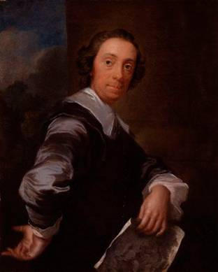 Richard Bentley, ca. 1753  (John Gilles Eccardt) (1720-1779)    National Portrait Gallery, London    NPG 5885