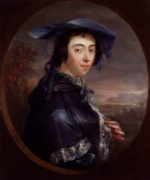 Margaret Peg Woffington, ca. 1753  (John Lewis (??)    National Portrait Gallery, London    NPG 5729