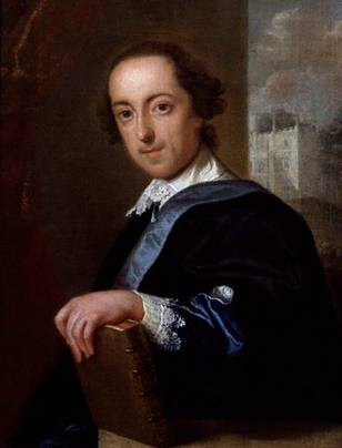 Horace Walpole, ca. 1754  (John Gilles Eccardt) (1720-1779) National Portrait Gallery, London    NPG 988