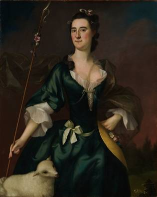 Mary Sylvester, ca. 1754 (Joseph Blackburn) (ca. 1730-1778)    The Metropolitan Museum of Art, New York, NY    16.68.2