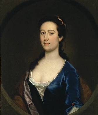 A Lady, ca. 1755 (Joseph Highmore) (1692-1780) St. Louis Art Museum, MO 11:1967