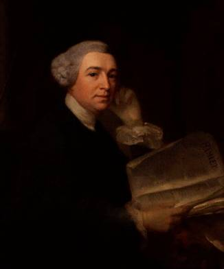 David Garrick, ca. 1752-1755 (Benjamin Wilson) (1721-1788) National Portrait Gallery, London    NPG 6249