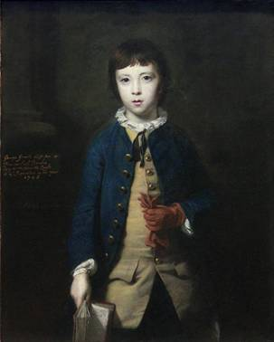 George Greville, 2nd Earl of Warwick, ca. 1754 (Sir Joshua Reynolds) (1723-1792)   The Metropolitan Museum of Art, New York, NY    L.1983.5.10
