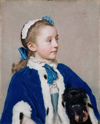 Maria Frederike van Reede-Athlone at 7 years old, ca. 1755-1756 (Jean-Étienne Liotard) (1702-1789) J. Paul Getty Museum, Los Angeles, CA 83.PC.273
