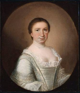 Mrs. Lionel Chalmers (Martha Logan),  1756  (Jeremiah Theüs) (1716-1774)    Museum of Fine Arts, Boston    47.1545